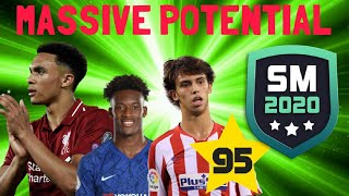 FUTURE RATINGS OF THE BEST YOUNG PLAYERS on SM20 Part 2 | SM20 Beta