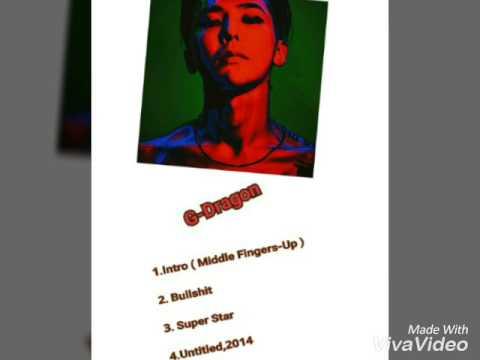 G-Dragon [Album] Bullshit Kwon Ji Young