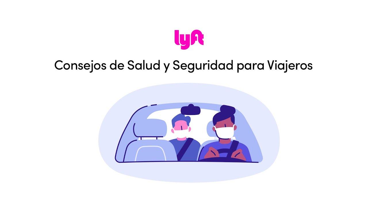 Consejos de seguridad sanitaria para tu próximo viaje de Lyft