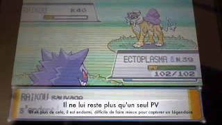 Capture Raikou Pokémon SoulSilver