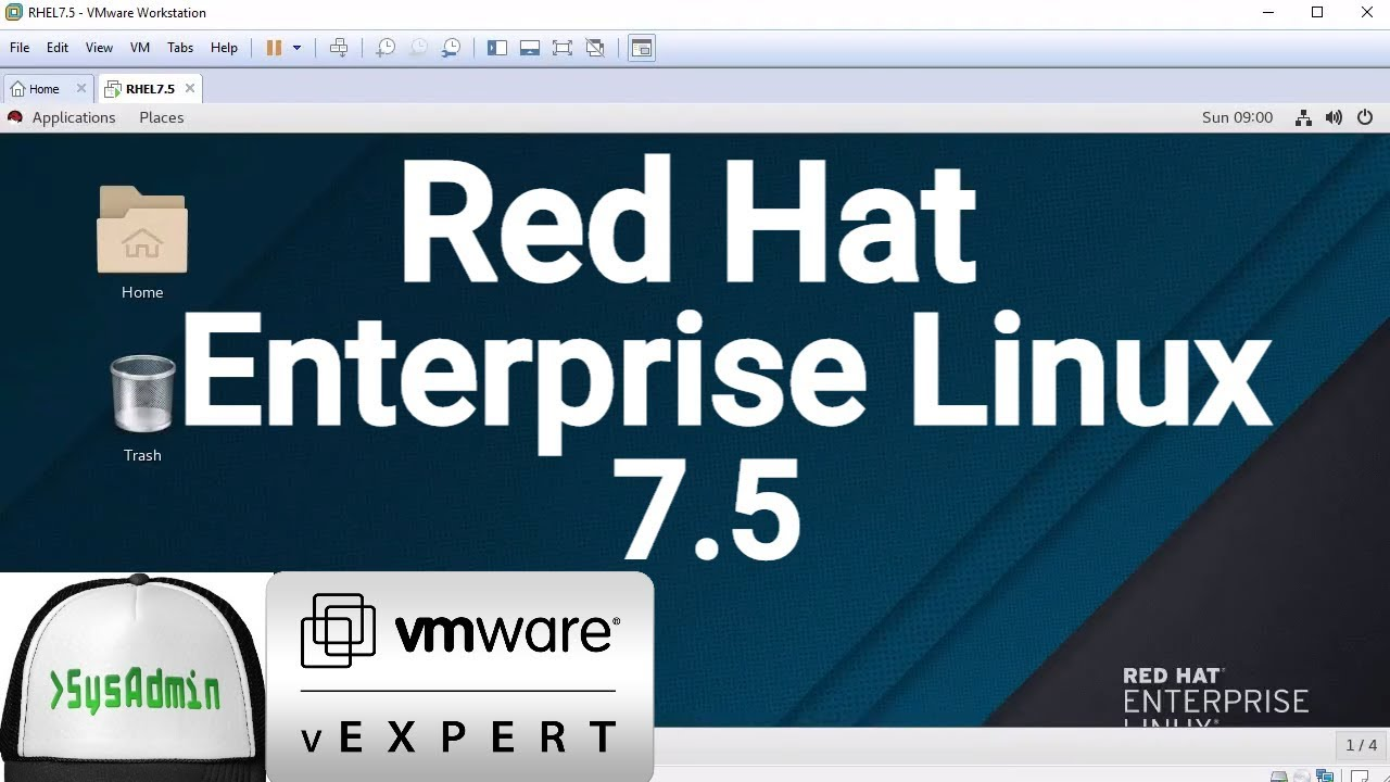 How to Install Red Hat Enterprise Linux Server 7 5 (RHEL 7 5) + Review on  VMware Workstation [2018]