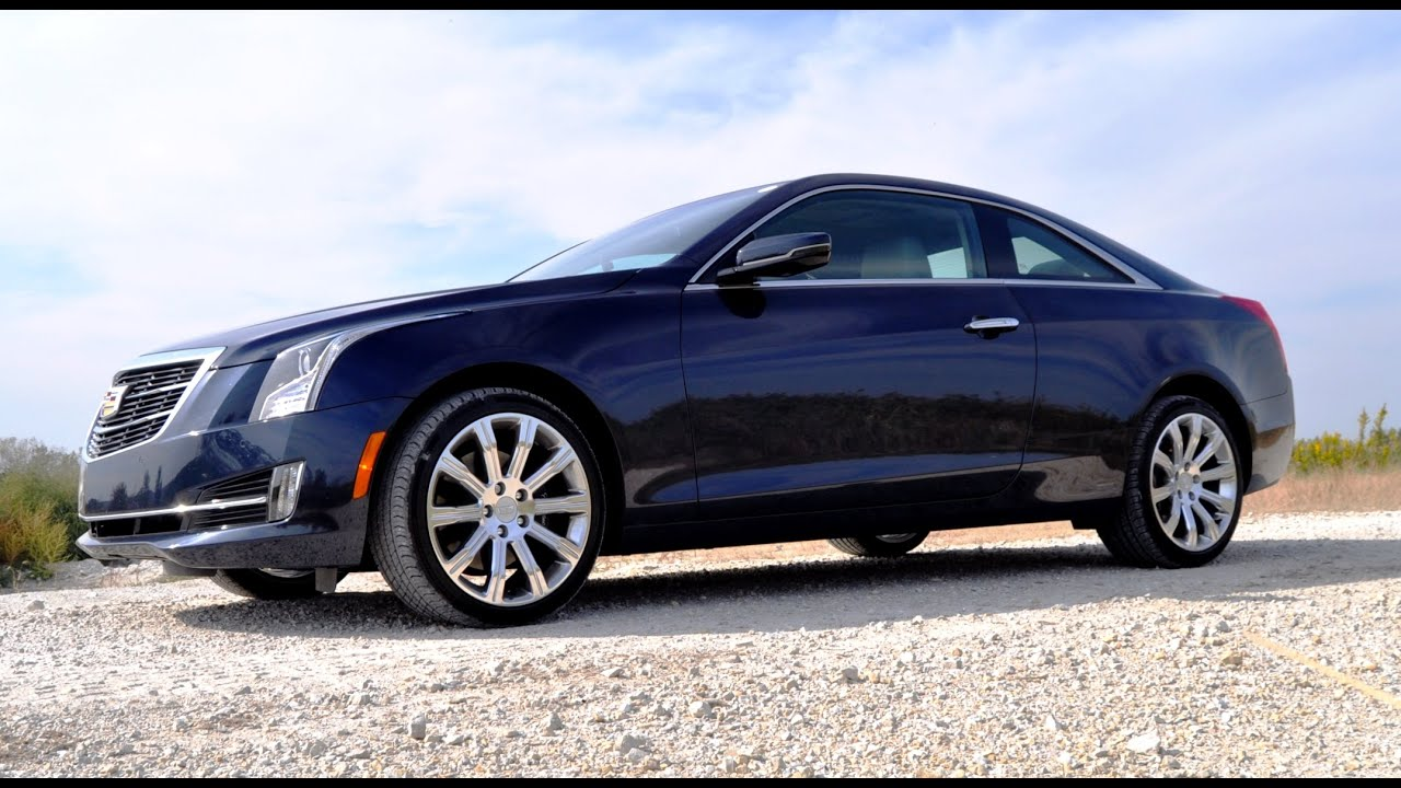 2015 Cadillac ATS 3.6 AWD Review - Car-Revs-Daily.com - YouTube