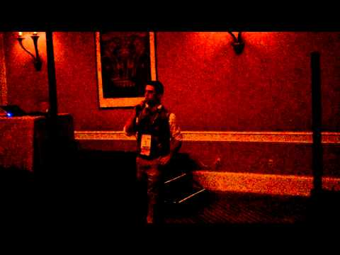Eric Nagel plays Piano Man at Affiliate Summit West 2012 Karaoke