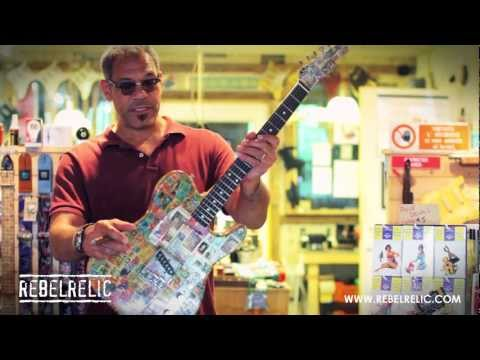 Stamp Guitar | GUITAR SHOWCASE