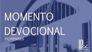 Devocional - Filipenses #6 - Rev. Rodrigo Buarque