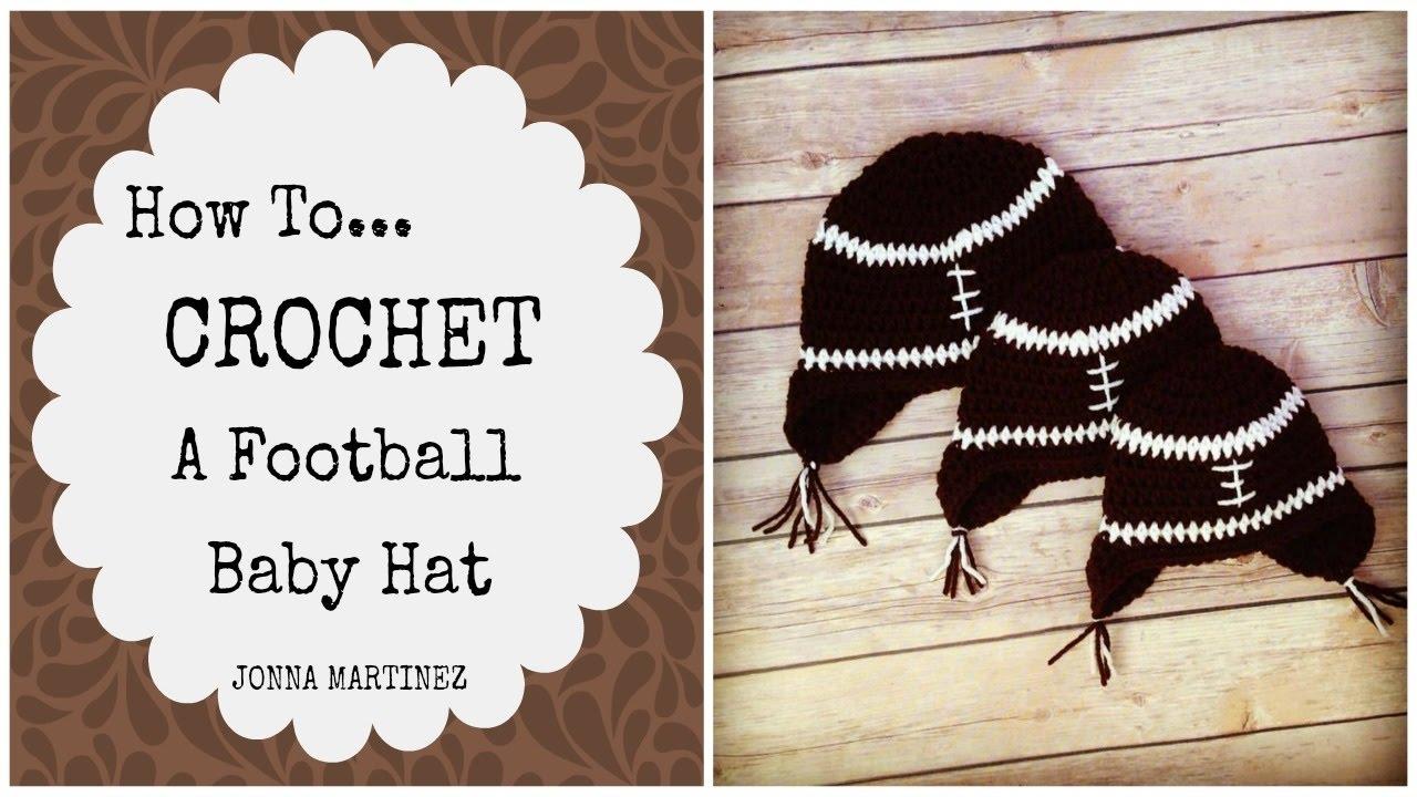 97ec9c51a59 Super CUTE Football baby hat - YouTube