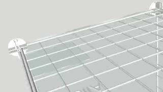 Acrylic Mini-grid Bin Shelf Liners Video.avi