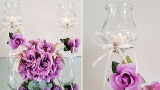 DOLLAR TREE LUXURIOUS CENTERPIECE | QUICK AND INEXPENSIVE DIY | WEDDING INSPIRED 2019