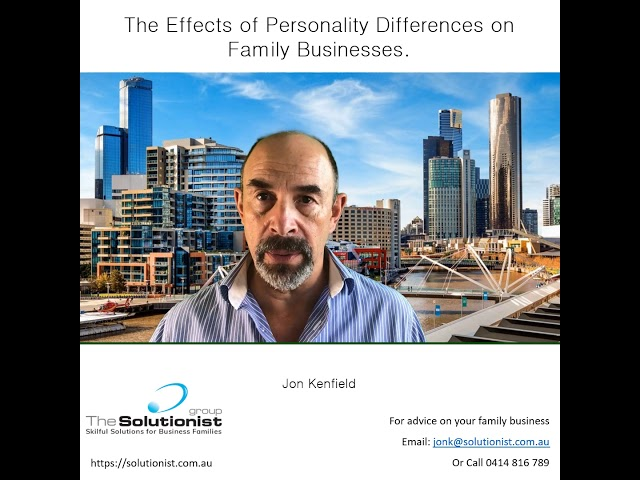 Blog #2 - Effects of Personality Differences