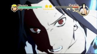 Naruto Shippuden: Ultimate Ninja Storm 2 - Naruto vs Sasuke Boss Battle  [PS3]