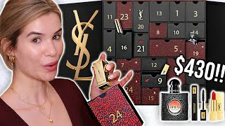 I SPENT $430 on YSL BEAUTY Advent Calendar... was it worth it?!