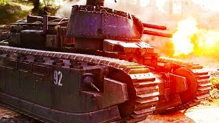 What are the new Vehicles in Battlefield 1 They Shall Not Pass