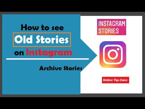 How to check Instagram old stories
