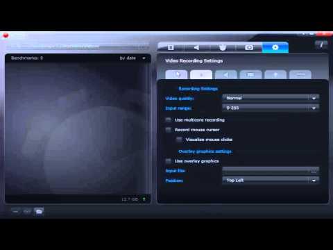 [TUTORIAL] Best Video Game RECORDING Program NO LAG - FACECAM - Mirillis Action Best Settings ...