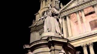 Лондон - Собор Святого Павла ночью(, 2010-10-25T19:35:16.000Z)