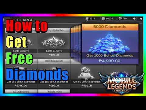 Paano Magkaroon ng Libreng Diamonds sa Mobile Legends: BANG BANG thumbnail