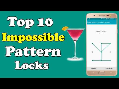 top 10 impossible pattern locks 2018