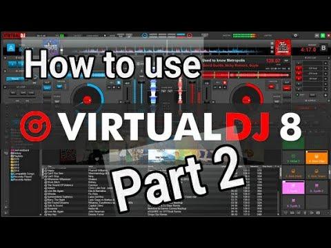virtual-dj-8-|-tutorial-how-to-use-vdj-8-|-playlists-karaoke-and-effects