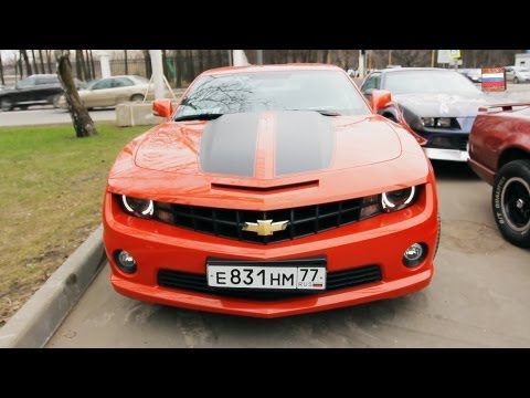 "American Muscle Cars in Moscow. ""Real Russia"" ep.44"
