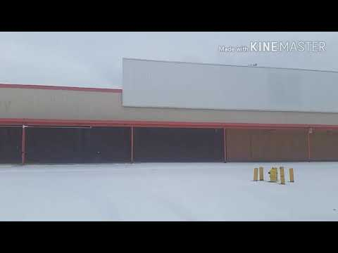 Abandoned First Generation K Mart Miller Rd. Flint, Michigan