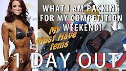 What I packed for my NPC Bikini Competition CHECKLIST | NPC ATLANTIS Ep18a| #SHANAEMILY