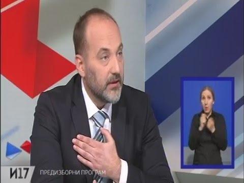Saša Janković na RTS - Predstavljanje kandidata za predsednika Republike Srbije