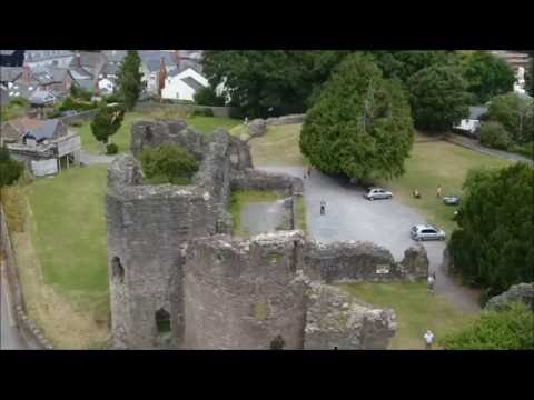 Abergavenny Castle Ruins August 2016