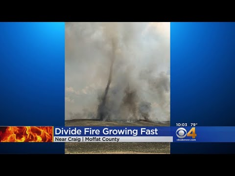 Divide Fire Kicks Up 'Fire Whirl' Weather Phenomenon