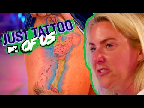 Mary Rages At Son Lewis' S**tty Design: 'I'm Your Mum That's Disgusting' | Just Tattoo Of Us 4