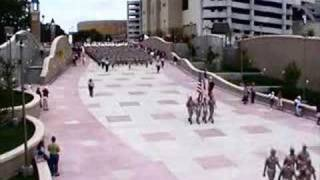 Aggie Band March to Reed Arena Ballad of the Green Berets
