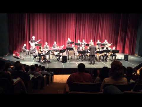 TAMU Jazz Band 2014 Christmas Concert - Carol of the Bells