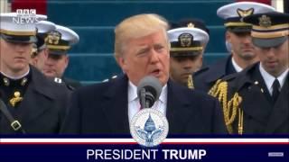 Donald Trump ドナルド・トランプ 大統領就任演説・日本語字幕