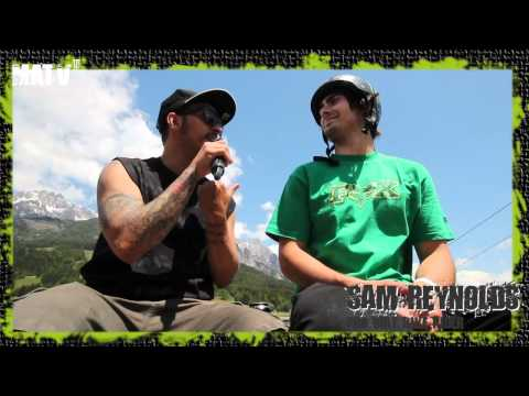 INTERVIEW WITH SAM REYNOLDS AT THE 26 TRIX IN LEOGANG!!