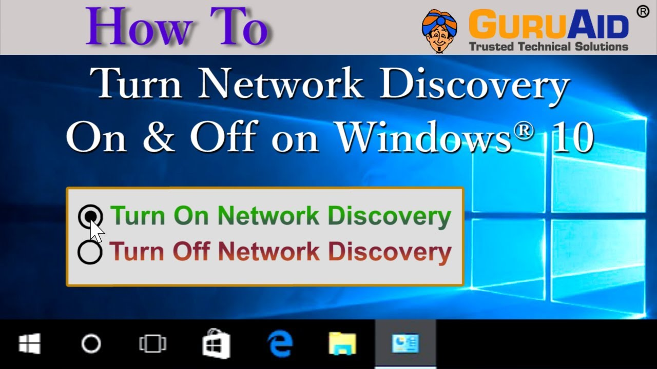 network discovery on or off