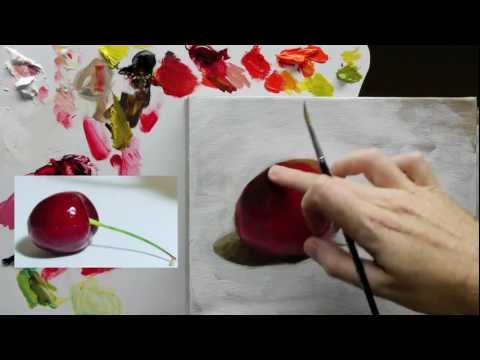 Beginners Acrylic Still Life Painting Techniques demo – Part 4 of 4