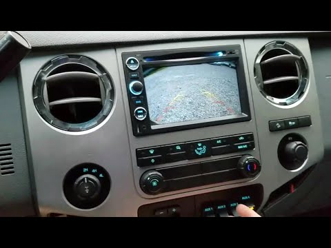 2011 – 2016 Ford F250 Super Duty Android Navigation and Tailgate