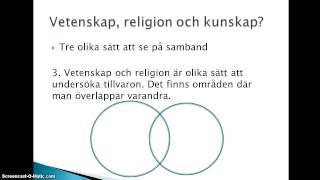 Vetenskap/religion - några utgångspunkter thumbnail