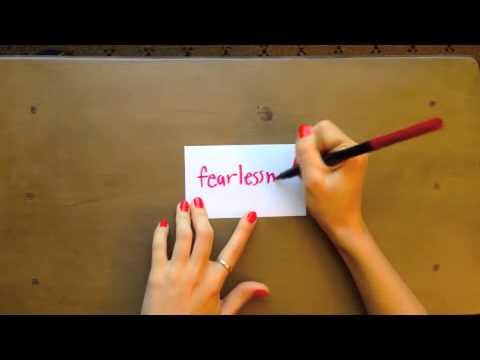 I Believe In Fearlessness