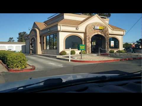 Subway With A Drive Thru Review