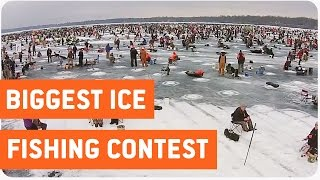 Largest Charity Ice Fishing Contest In The World