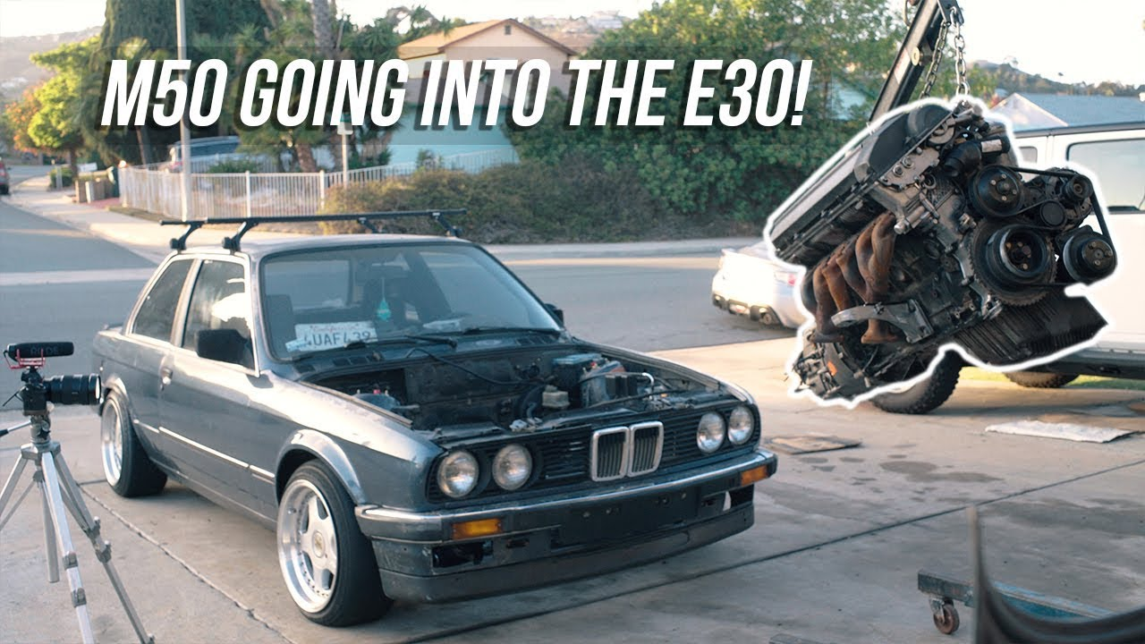 E30 DRIFT BUILD : EP07 HOW TO M50 SWAP YOUR E30 PART 1!!