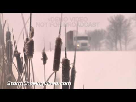1/5/2015 Holland & Grand Rapids, MI Lake Effect Snow