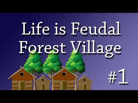 RANDOM BOAR | Life is Feudal Forest Village #1 |