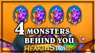 4 Monsters Behind You  ~ Kobolds & Catacombs ~ Hearthstone: heroes of warcraft (video game)