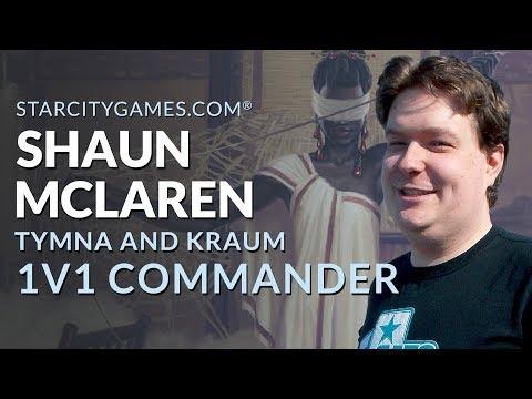 1v1 Commander: Tymna and Kraum with Shaun McLaren - Round 1