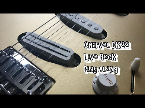 Blues Rock Playalong with the Charvel DK22