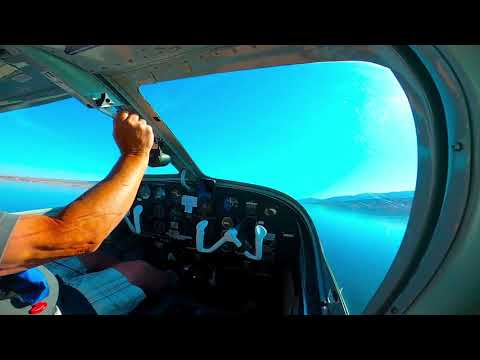 Seaplane Splashing Lake Meade Nevada