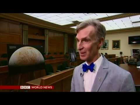 BBC Interviews Bill Nye About Looking for Life on Europa