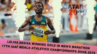Men's Marathon Final Doha 2019 - 17th IAAF World Athletics Championships