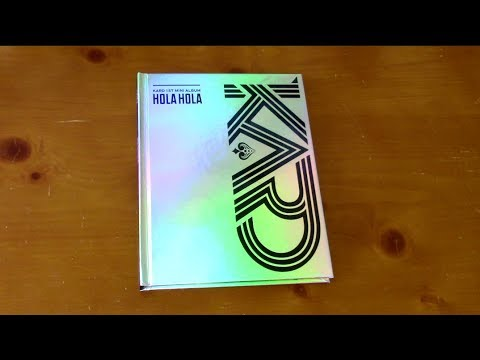 [UNBOXING] KARD(카드) - Hola Hola(올라 올라) [The Shiniest Kpop Album]